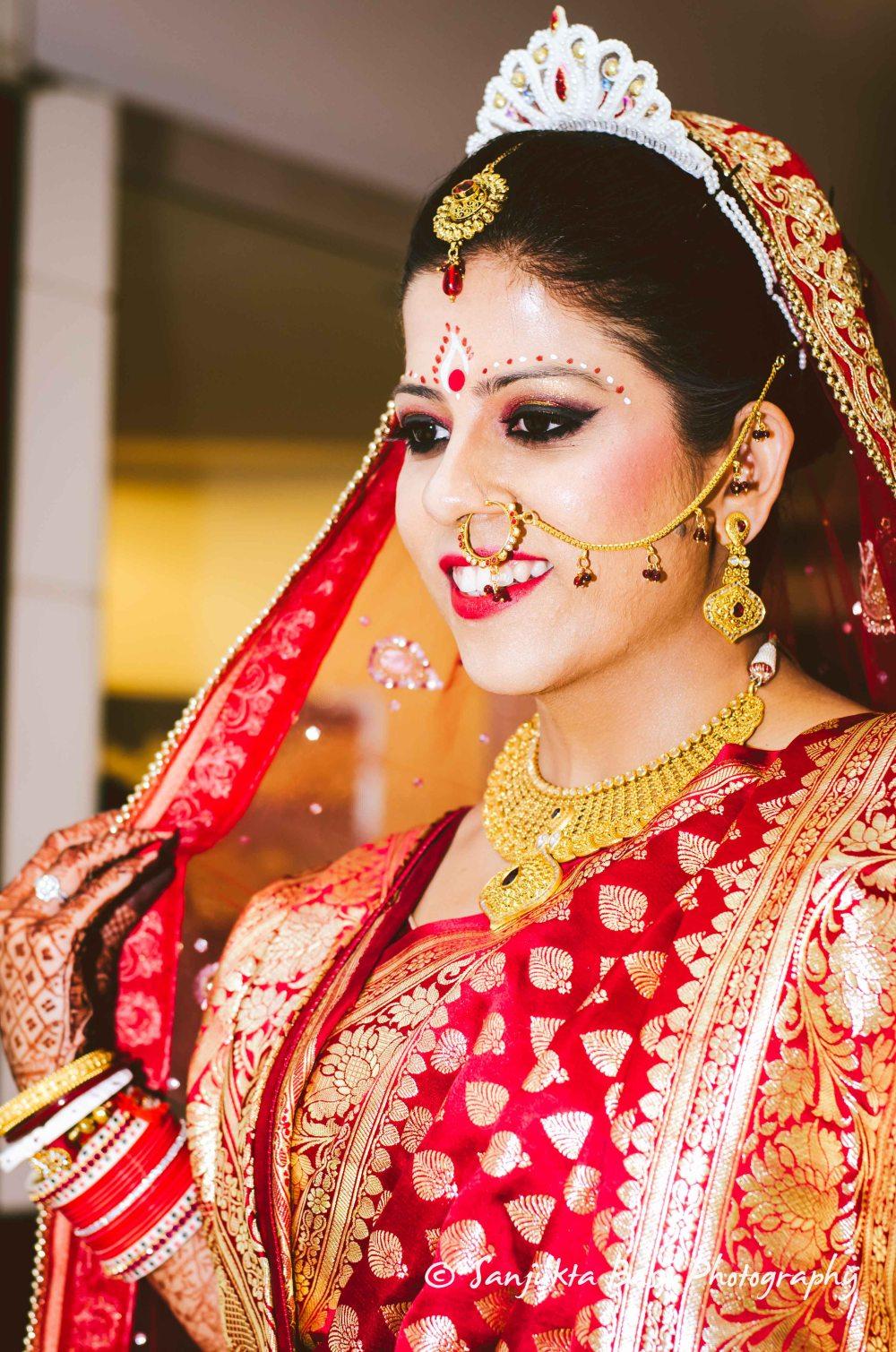 Pooja weds Tamoghna - Bridal Portrait-1