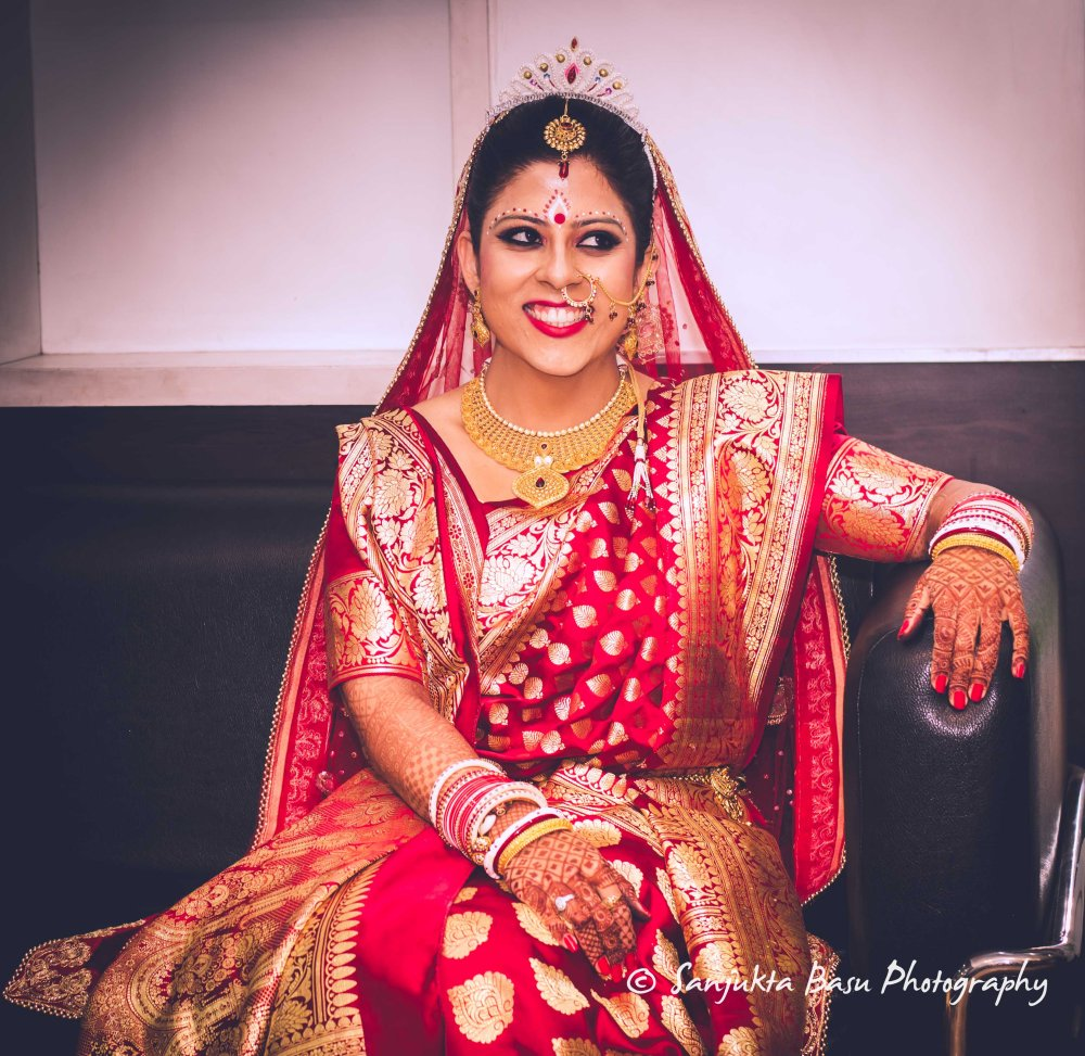 Pooja weds Tamoghna - Bridal Portrait-3
