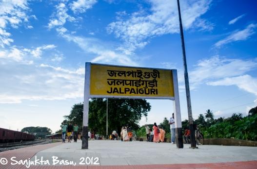 And we finally arrived back home, Jalpaiguri