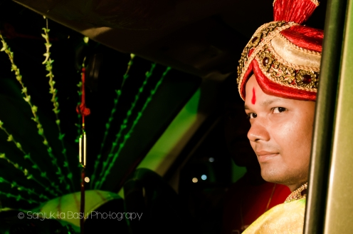 Portraying the bridegroom - candid wedding photography by sanjukta basu