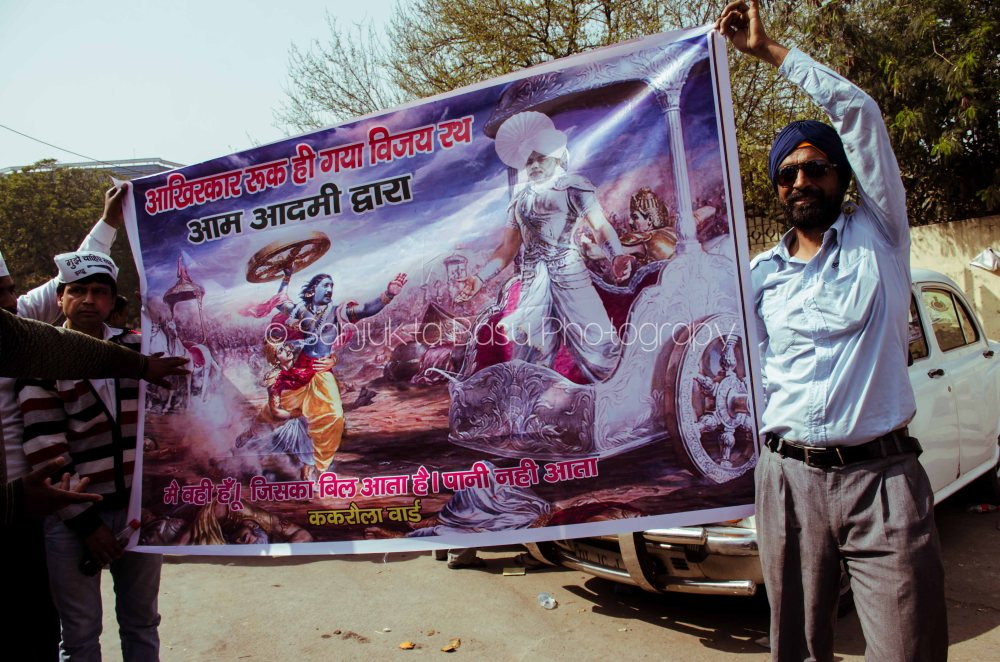 Kejriwal Shapath Ramlila Maidan-048
