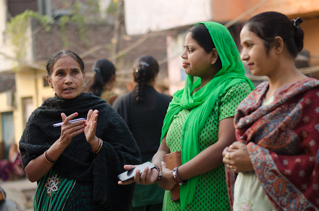 MAMTA's woman leaders who train young girls on entrepreneurship