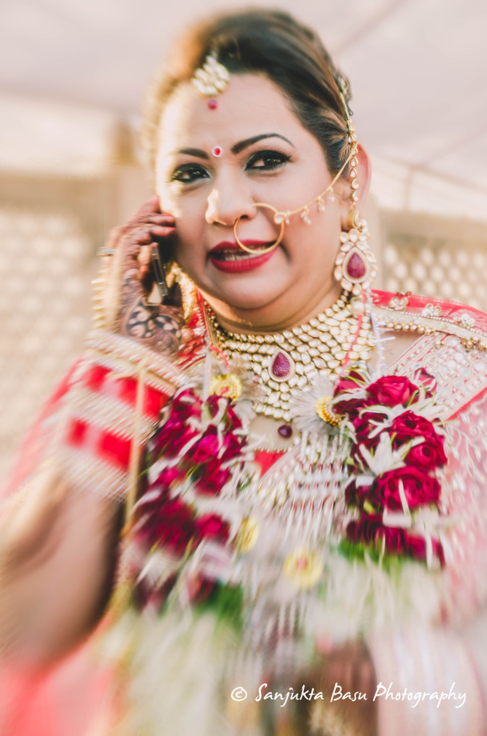 Bridal portrait Mansi-1