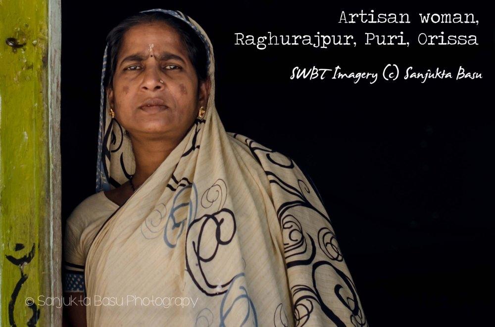 artisan woman raghurajpur