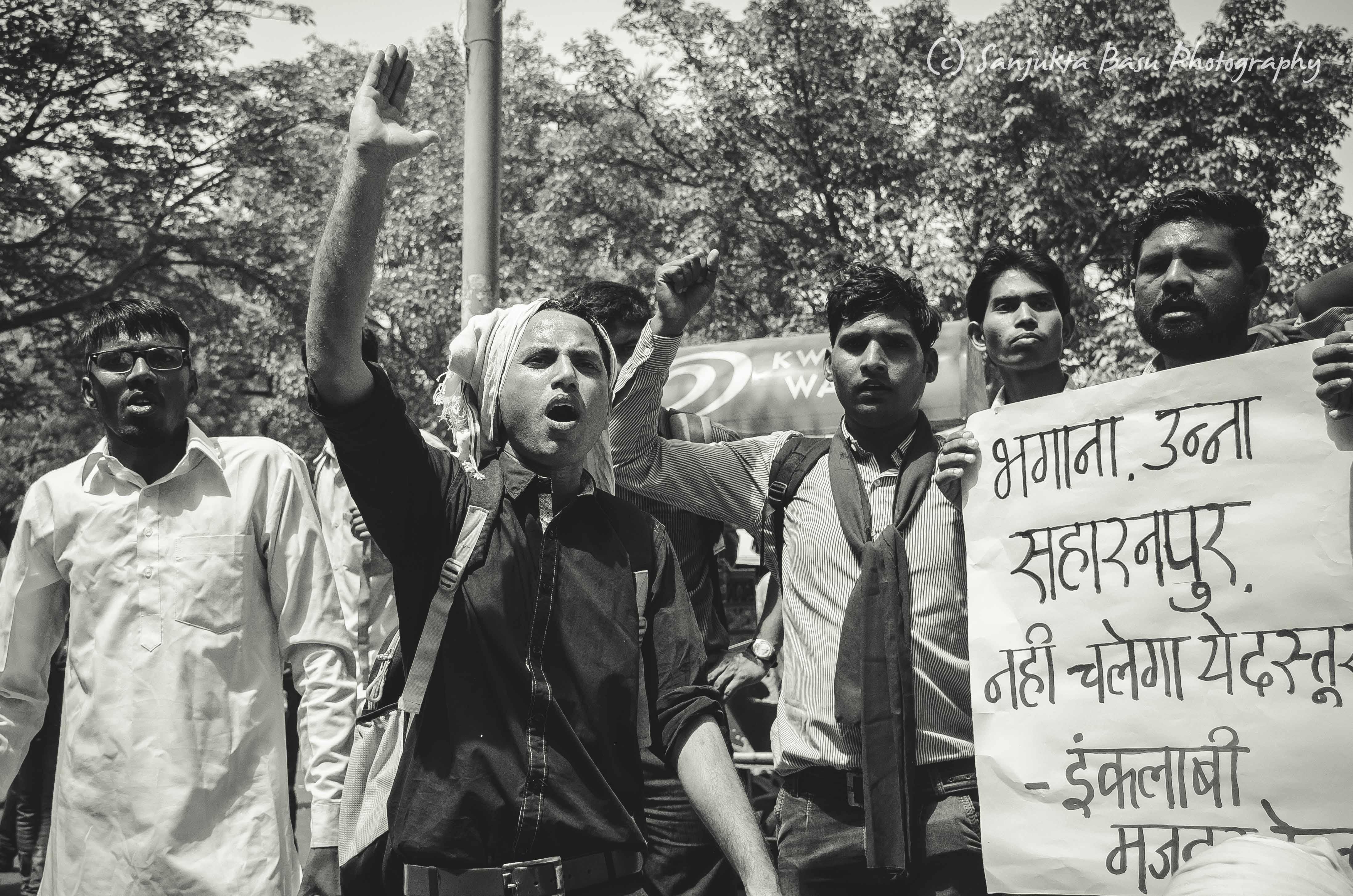 Bhim Army protest at Jantar Mantar Delhi low res-25