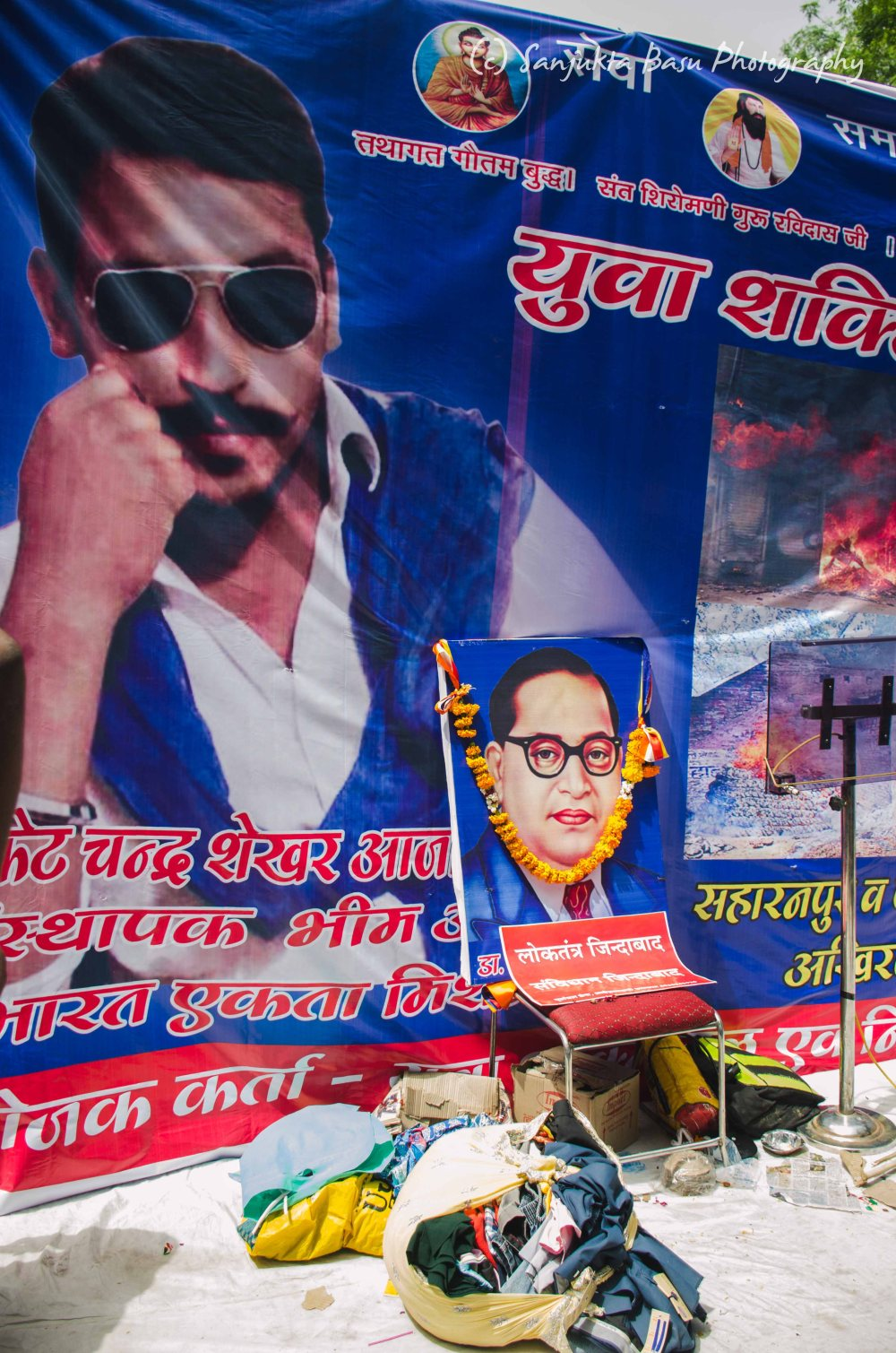 Bhim Army protest at Jantar Mantar Delhi low res-31