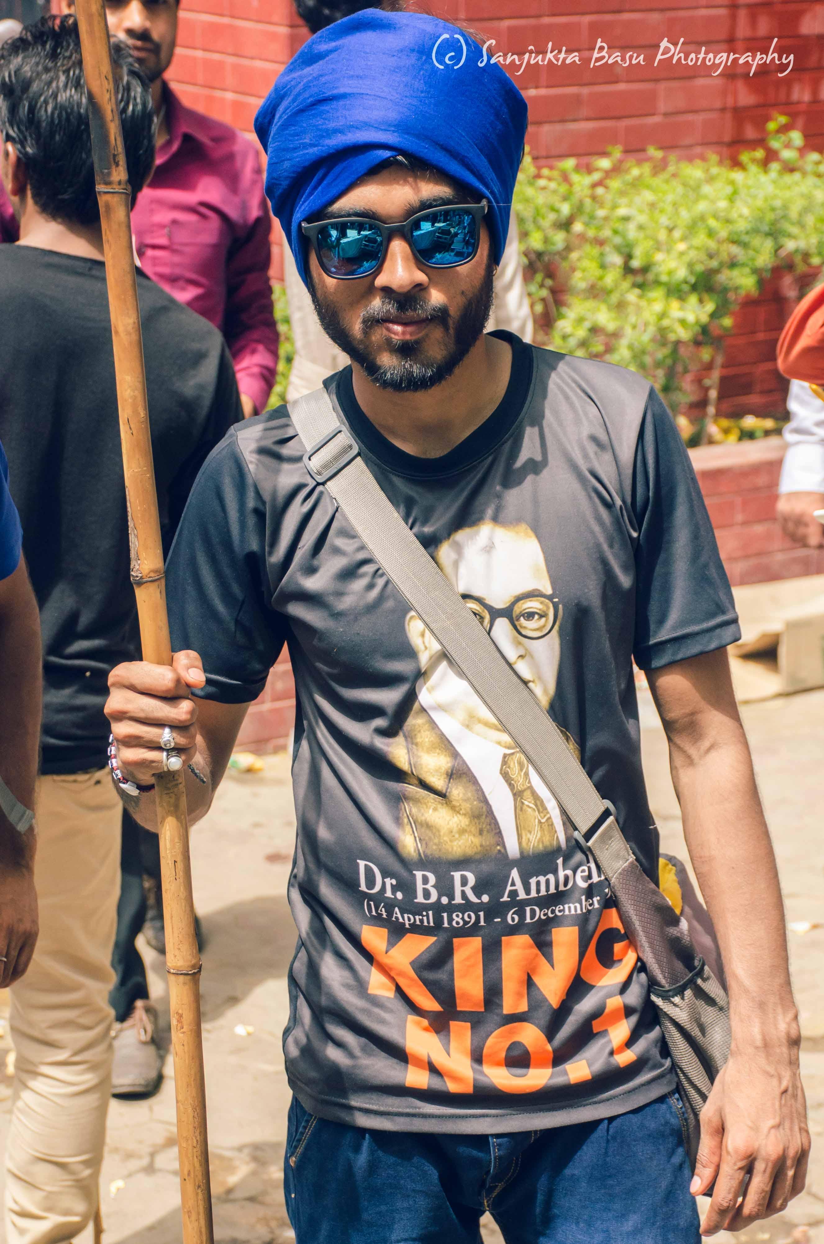 Bhim Army protest at Jantar Mantar Delhi low res-35