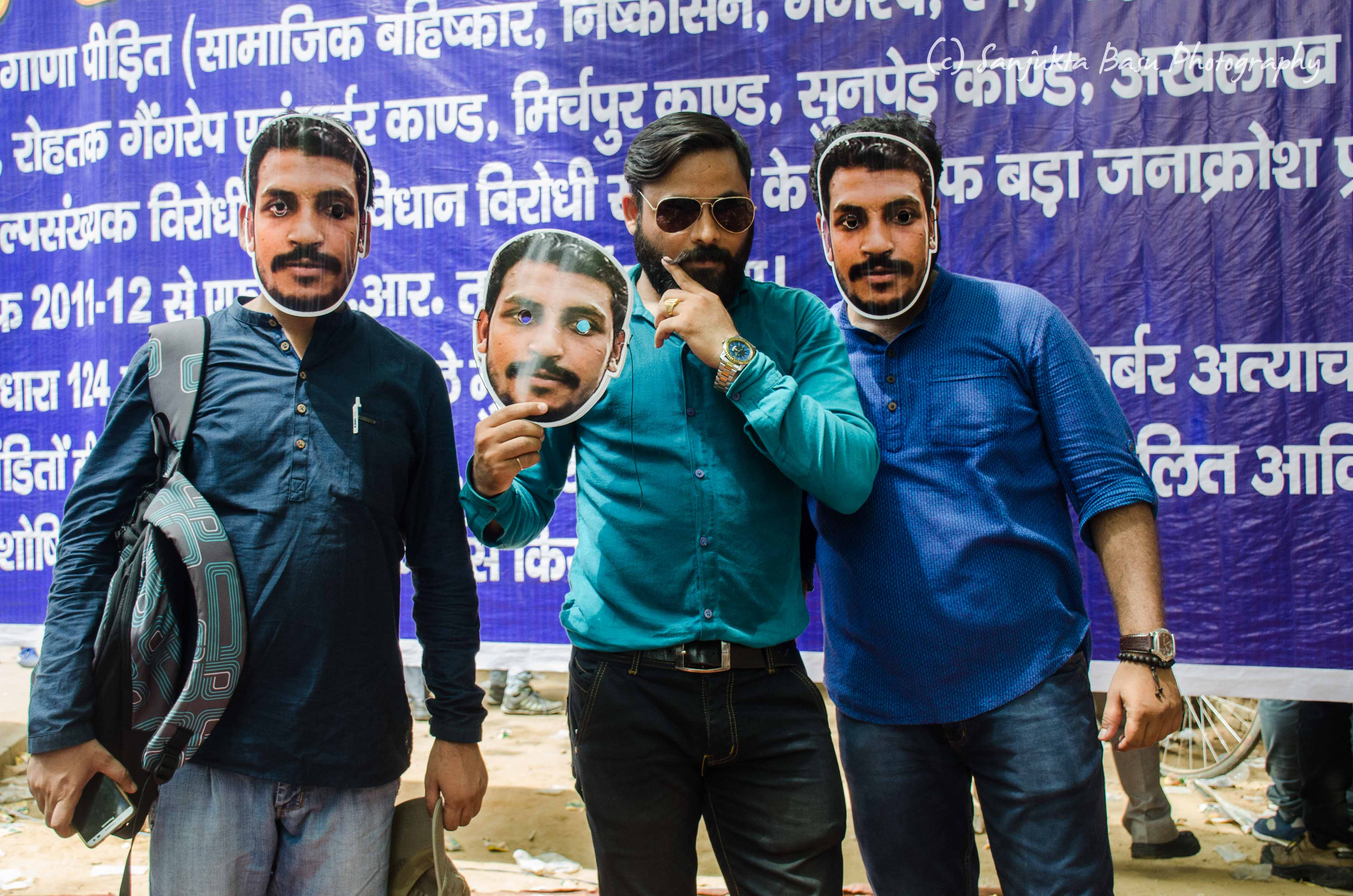 Bhim Army protest at Jantar Mantar Delhi low res-38