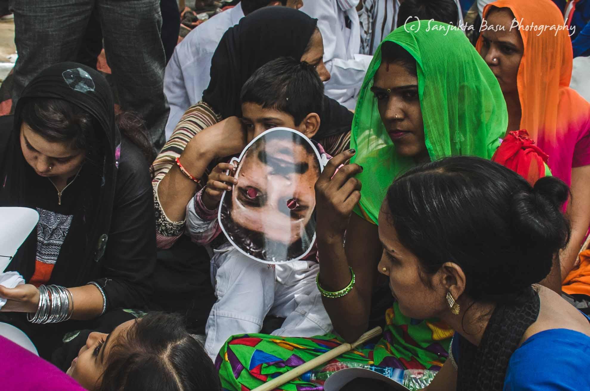 Bhim Army protest at Jantar Mantar Delhi low res-39