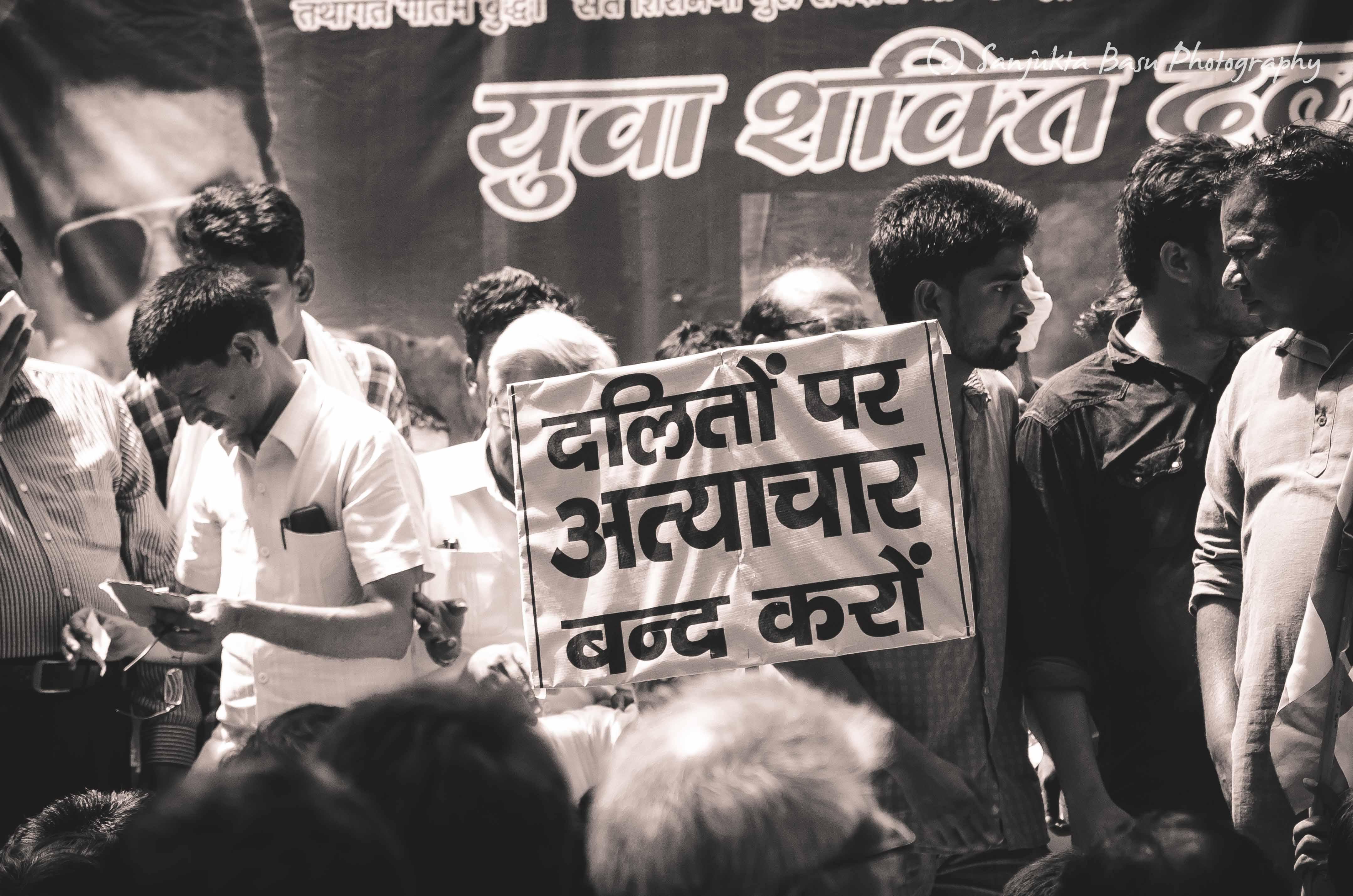 Bhim Army protest at Jantar Mantar Delhi low res-40