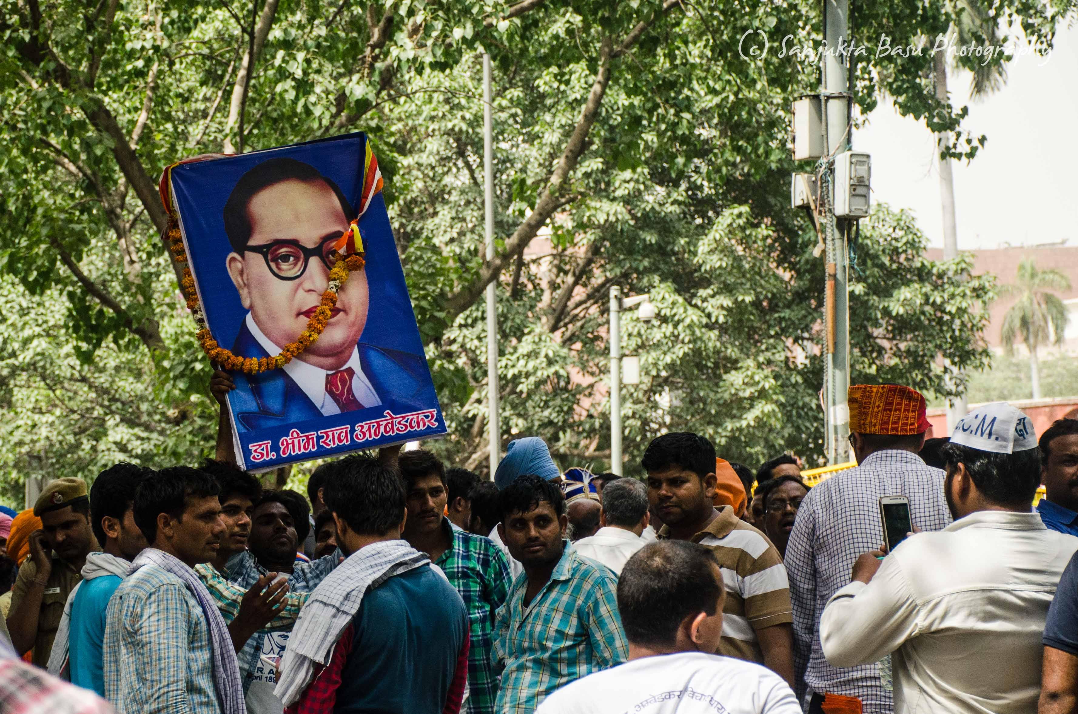 Bhim Army protest at Jantar Mantar Delhi low res-47