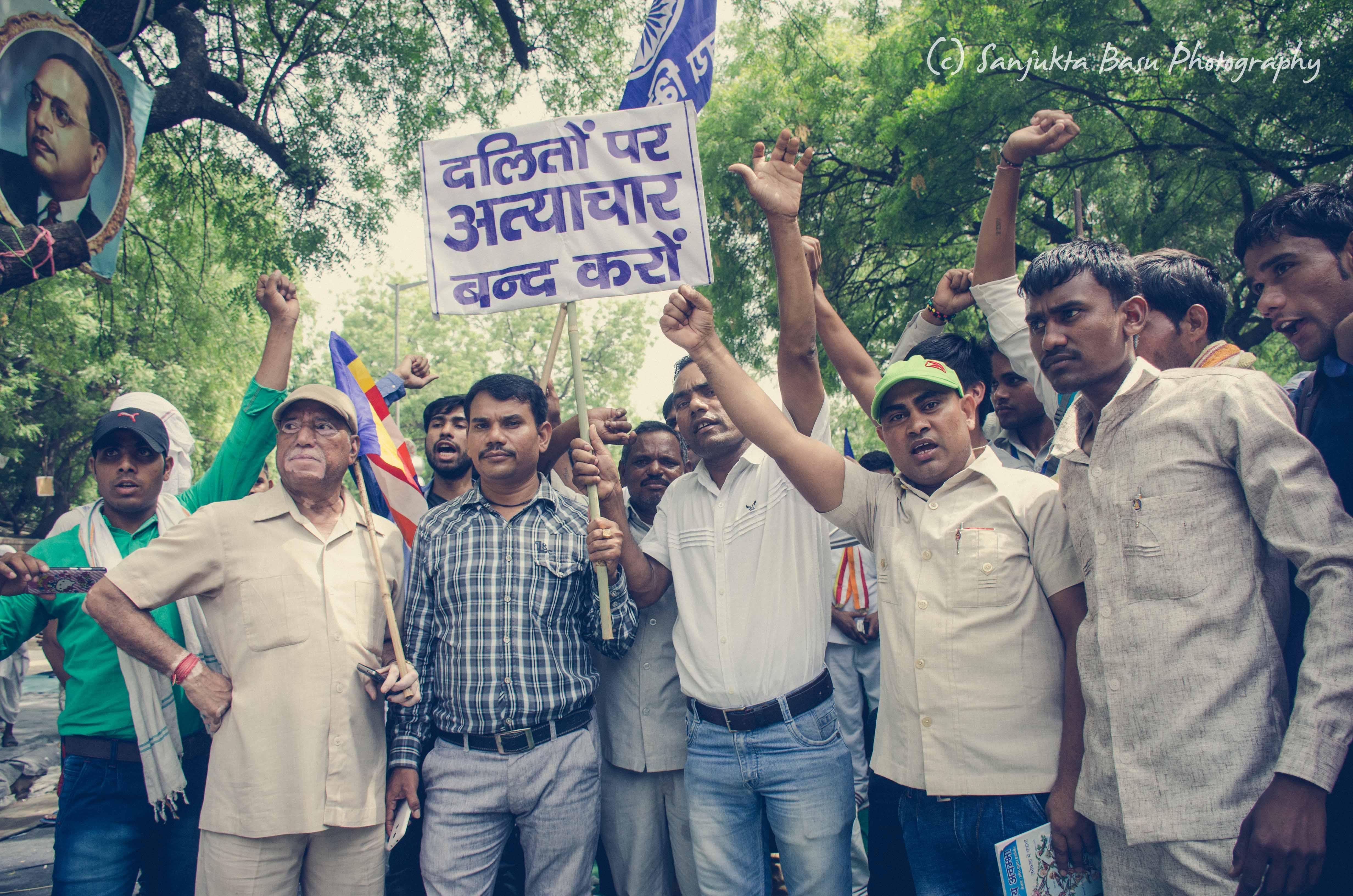 Bhim Army protest at Jantar Mantar Delhi low res-49