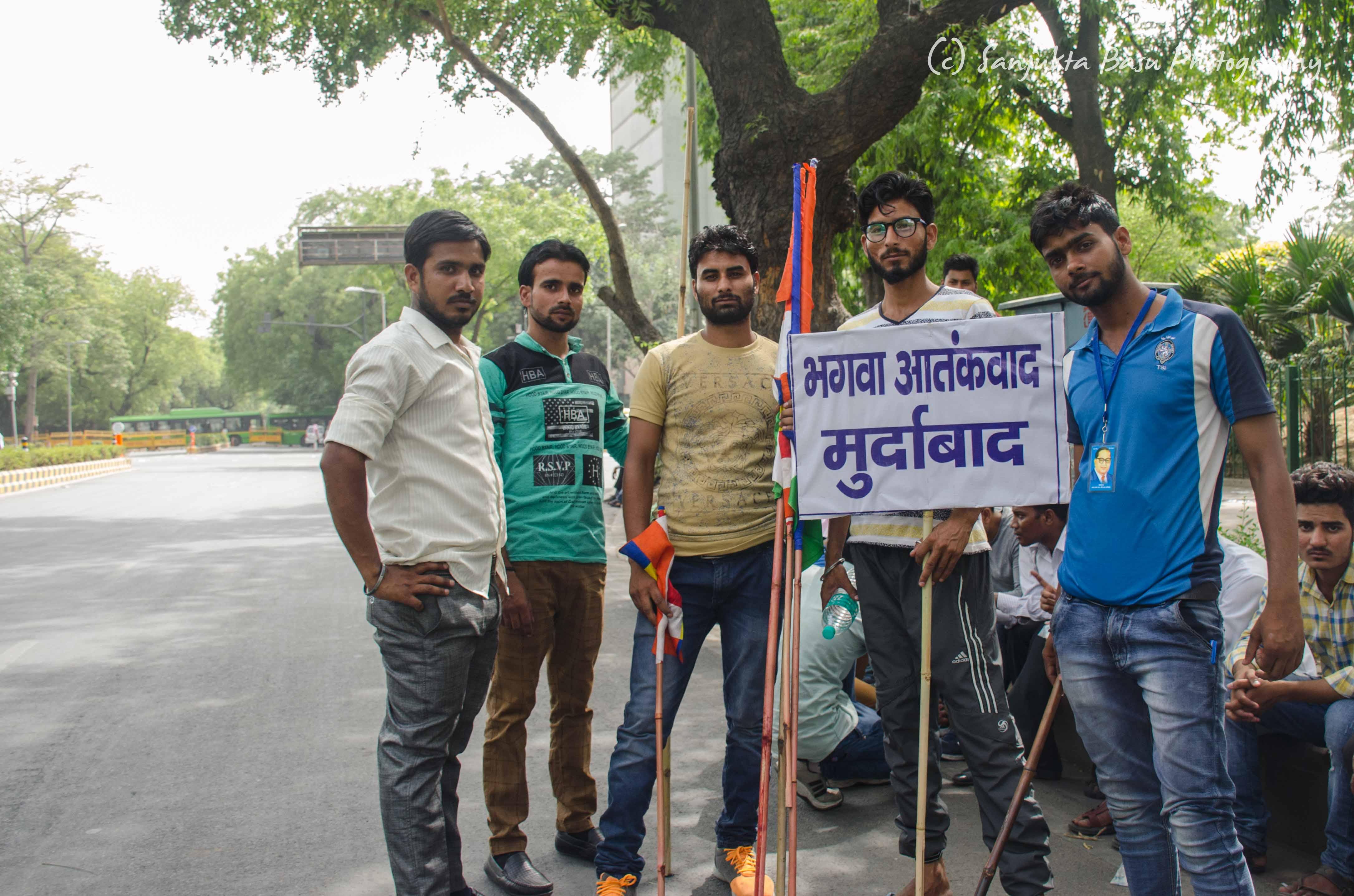 Bhim Army protest at Jantar Mantar Delhi low res-54