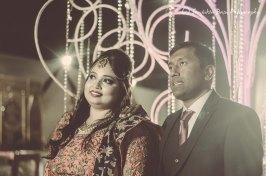 the couple look ahead