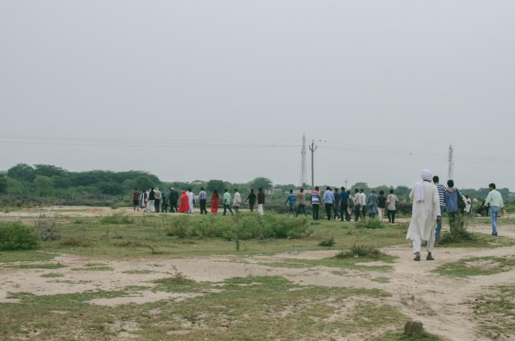 the karwan walks through village dangawas compressed