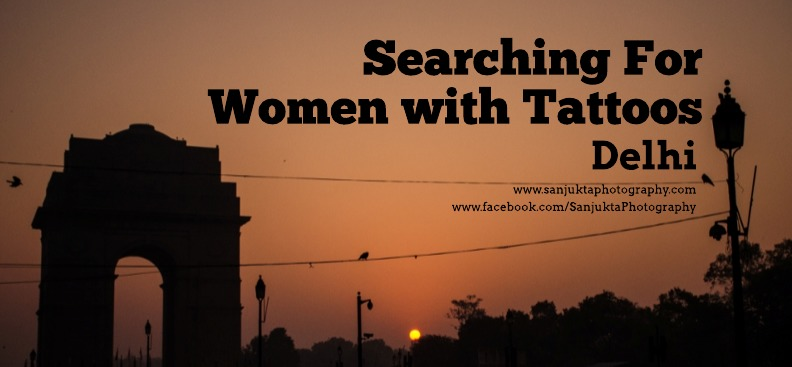 Searching for women with tattoo delhi poster
